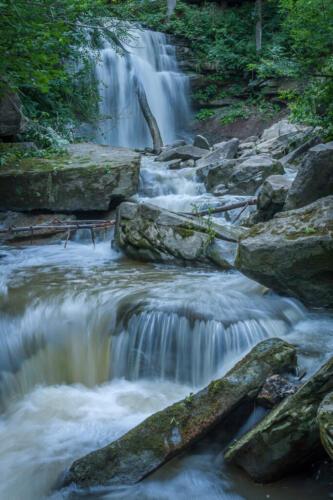 Smokey Hollow Falls 7.5 6.5 7 21 BPP John Kerr  Pictorial Bronze