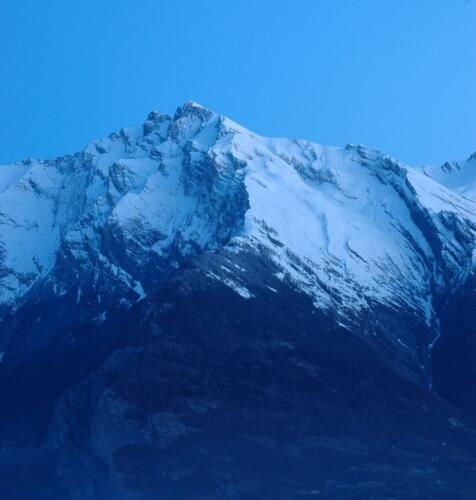 The Alps At The Blue Hour 7 6.5 6.5 20 Roy Oldfield  Pictorial Gold