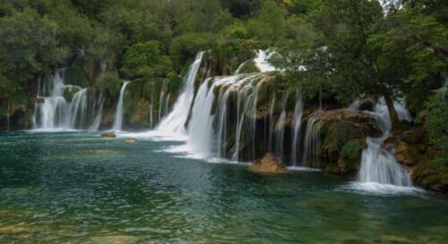 Waterfalls 8.5 7 7 22.5 SPP Bill Waddell  Pictorial Silver