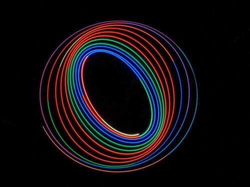 Colourful Spiral Of Light 7.5 7.5 7.5 22.5 Dan Copeland  Creative Master