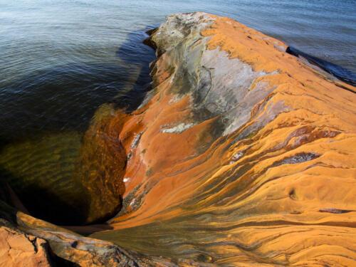 Sandstone, Isles De La Madeline 8 7 7 22 David Seldon  Pictorial Master