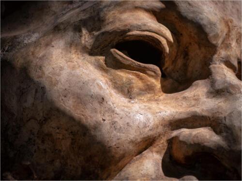 Sculpture Detail 6 6.5 7.5 20 Patrick Mohide  Pictorial Gold