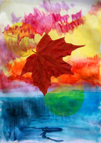 Falling Leaf 7.5 8 8 23.5 Leonie Holmes FCAPA  Creative Master