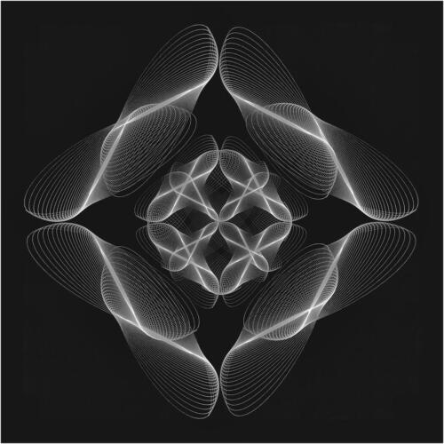 Symmetrical Fireflies 8 10 9 27 TC GPP Ed Espin  Pictorial Gold