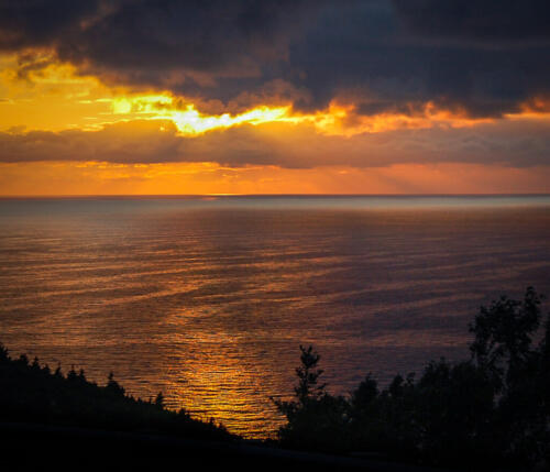 Cape Breton Sunset 6.5 7 6.5 20 Mike Mulvale  Pictorial Silver