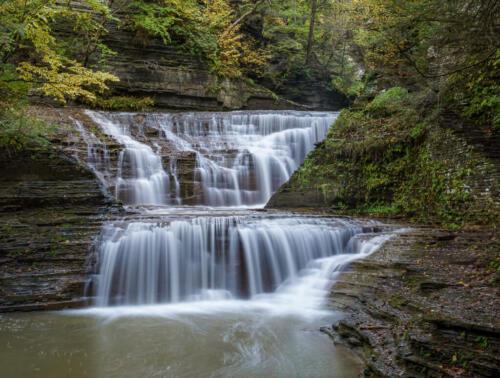 Ithaca Waterfall Flow 7.5 8 7.5 23 GPP Andy Langs  Pictorial Gold