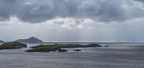 Irish Coast - County Kerry 7 7 7 21 Mike Mulvale  Pictorial Silver
