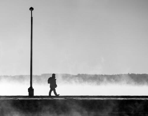 Cold Stroll On The Pier 7 6.5 8.5 22 Andy Langs  Pictorial Gold