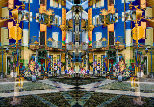 Italian Courtyard 8.5 8.5 7.5 24.5 HM GPP Patrick Mohide  Creative Gold
