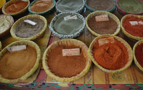 Spices At The Market 7 7 6.5 20.5 Roy Oldfield  Pictorial Gold