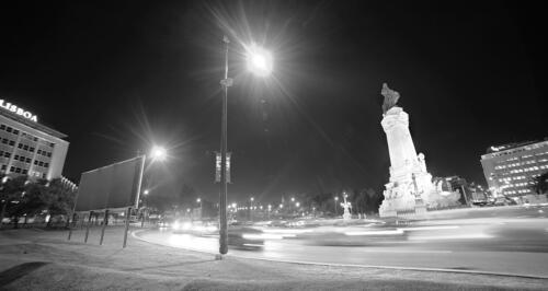 Lisbon Night  Pictorial Silver