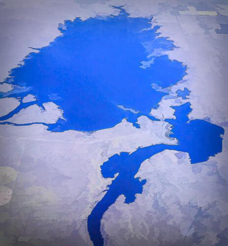 Pattern In Blue 6.5 6.5 6.5 19.5 Don Poulton  Creative Master