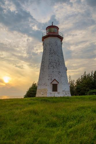 Sunset At Seacow Lighthouse 21.5 Andy Langs  Pictorial Silver