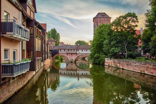 Pegnitz River - Nuremberg 23 GPP Victor Turczynski  Pictorial Gold
