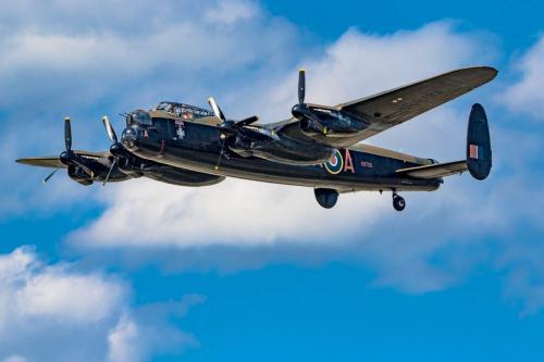 Lancaster Bomber 23.5 SPP Geoffrey Skirrow  Pictorial Silver