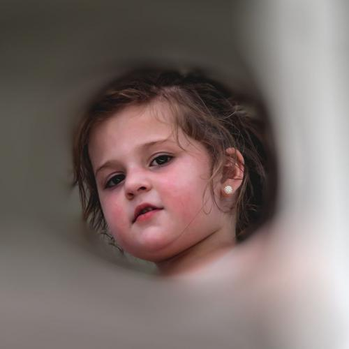 Portrait Of A Child 20 Judy Moniz  Pictorial Bronze