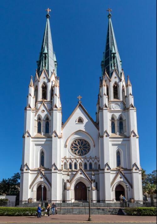 Savannah Cathedral  19.5  Pictorial  Master  Don  Poulton
