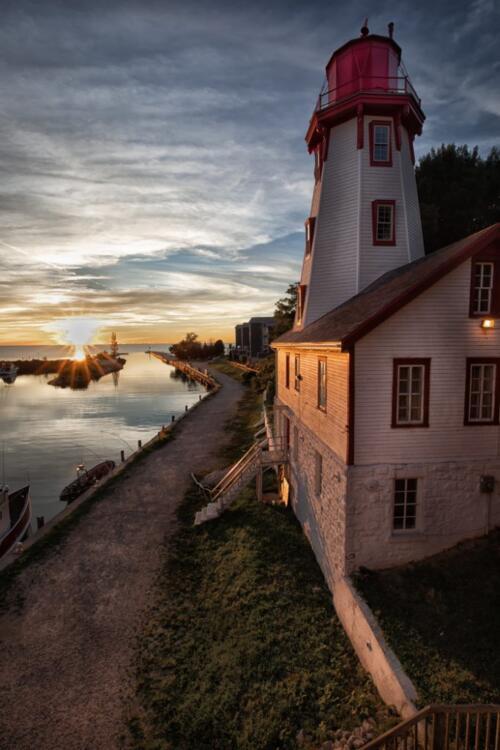 Kincardine Lighthouse  23.5  Pictorial  Silver  Jim  Sykes