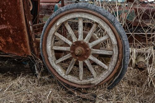 Wagon Wheel  22  Pictorial  Gold  Victor  Turczynski