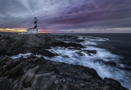 Golden Hour aFavaritx Lighthouse  23.5  Pictorial  Gold  John  Chapman