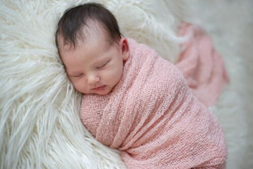 Baby Faye Swaddled  22  Pictorial  Silver  Valerie  Goodfellow