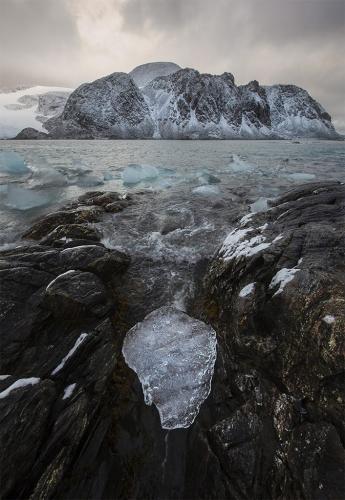 Piece of Glacier Ice  24  Nature  Master  John  Overmeyer