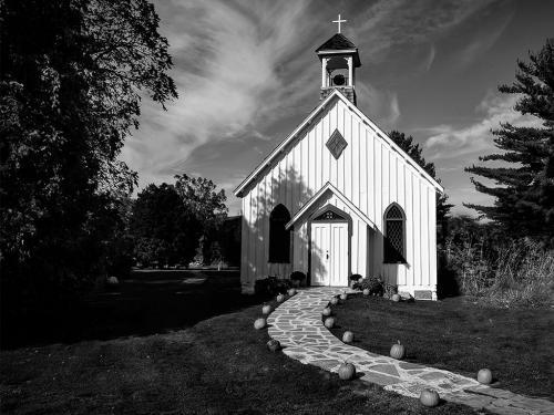 Church At Balls Falls 7 7 7.5 21.5 John King  Pictorial Gold