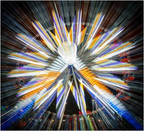 Ferris Wheel Starburst 7 7.5 8 22.5 SPP Andy Langs  Creative Silver