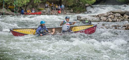 Gull River Open Canoe Race 8 7.5 8 23.5 GPP Bertin Francoeur  Pictorial Gold