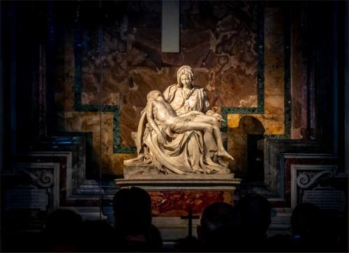 The Pieta By Michelangelo 6 7 6 19 Patrick Mohide  Pictorial Gold