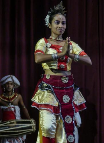 Sri Lankan Dancer 6.5 7 7 20.5 Geoff Norman  Pictorial Silver