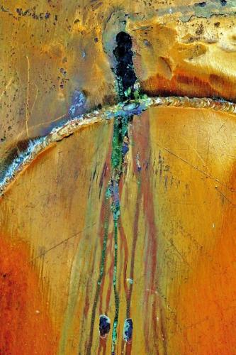 Whisky Still Abstract 6 8 8.5 22.5 James Hamilton  Pictorial Gold