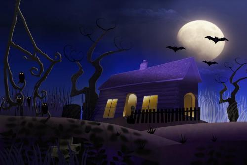 Halloween Night 25 Creative Gold HM GPP Ezbieta Piskorz