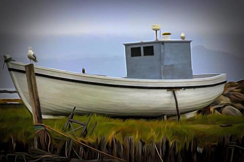 Fishing Boat 21.5 Creative Silver Ken Baker