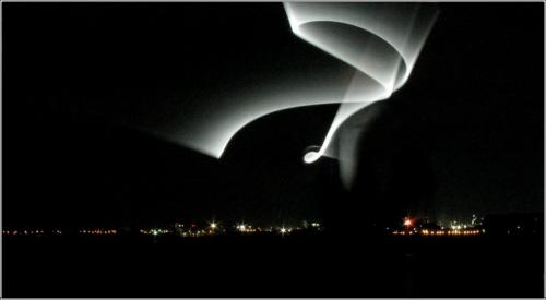 Alien at LaSalle Park 21 Creative Silver John Bunyon
