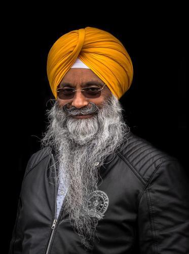 Portrait of Mr Singh 24 Pictorial Gold GPP Bertin Francoeur