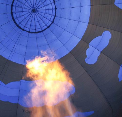 Hot air balloon 21 Pictorial Silver John Lamont