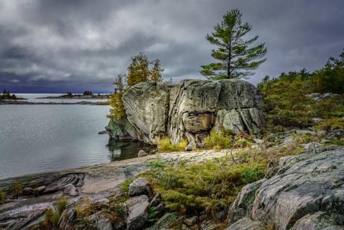 A Stormy Day on Franklin Island 24.5 Pictorial Gold HM GPP Kathryn Martin