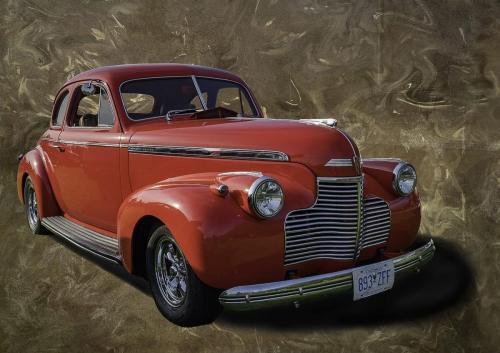 1940 Chevrolet Coupe 23.5 Pictorial Gold GPP Virginia Stranaghan