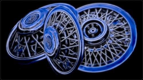 Wheel Covers 7.5 8 7.5 23 GPP John King  Creative Gold