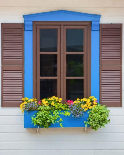Blue window 22.5 SPP Jim Sykes  Pictorial Silver