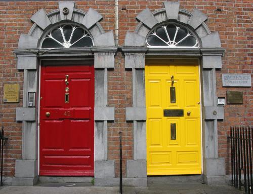 Dublin Doors 21 Graham Jardine  Pictorial Gold