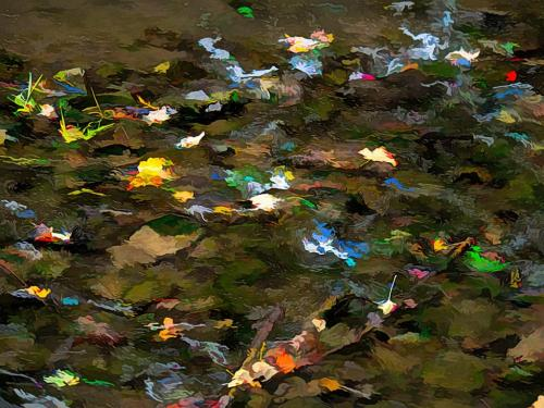 Autumn Creek 20 Robert Melnyk  Pictorial Gold