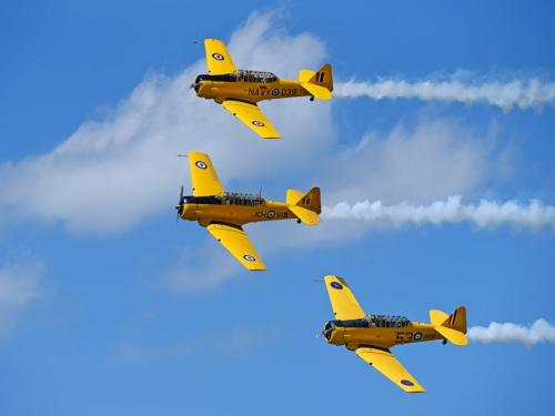 3 Planes Air Show 7 7.5 8 22.5 SPP Carey Hope  Pictorial Silver