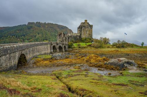 Eileen Donan Castle, Scotland 7 8 7 22 Kathryn Martin  Pictorial Gold