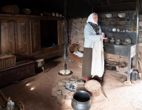 Cheesemaker In Bothy 6.5 6.5 7 20 John Strung  Pictorial Gold