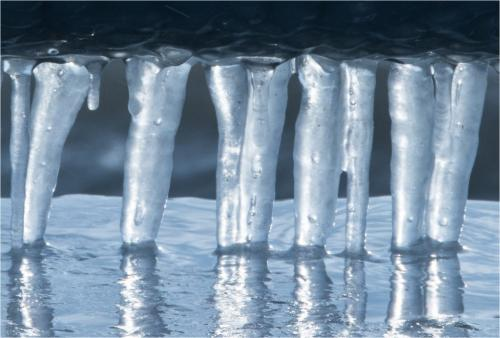 Icicle Reflections 6.5 6 7 19.5 Janet McNally  Pictorial Silver