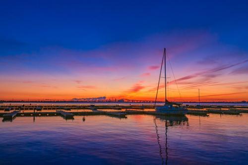 Lasalle Marina At Sunrise 7.5 7.5 7.5 22.5 Geoff Dunn  Pictorial Gold