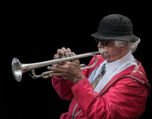 The Jazz Man 8.5 7.5 8 24 HM GPP Bertin Francoeur  Pictorial Gold