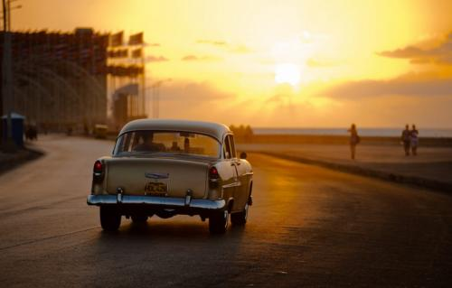 Havana_Malecon_Sunset_Drive 6.5 7 7.5 21 BPP Thomas McGory  Pictorial Bronze